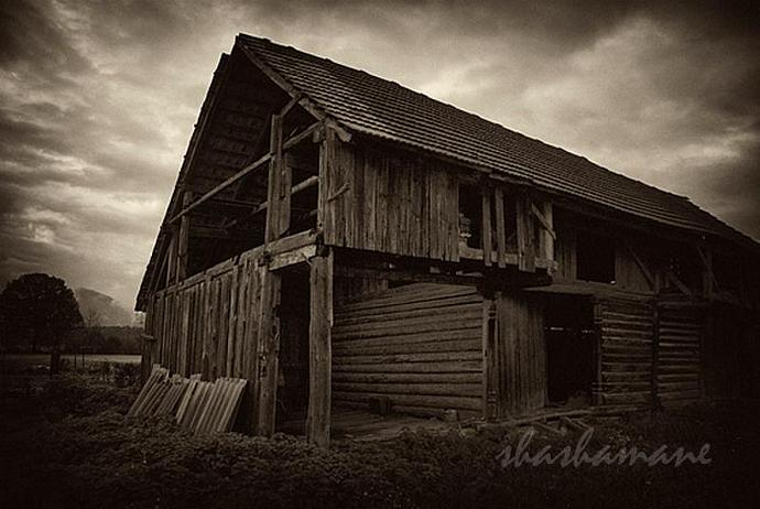 Rural and rustic Slovenia II - set of four 5x7 sepia fine art photography prints