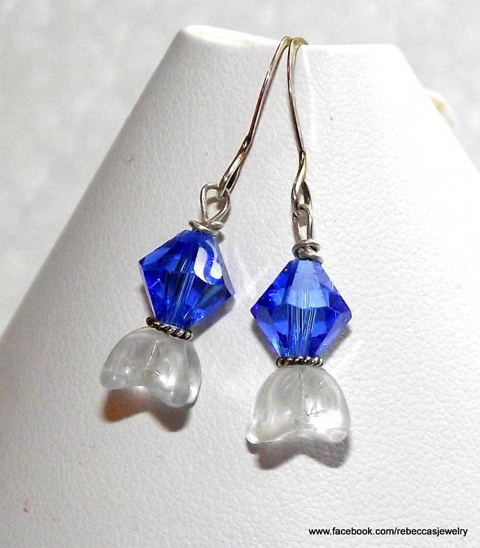 Summer Bell Earrings ~ Blue