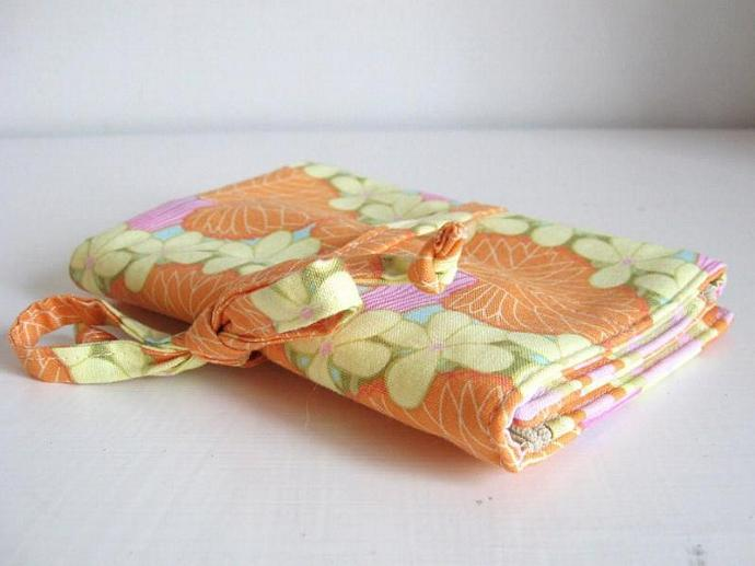 Jewelry Roll - Nouveau Trees- Made to order