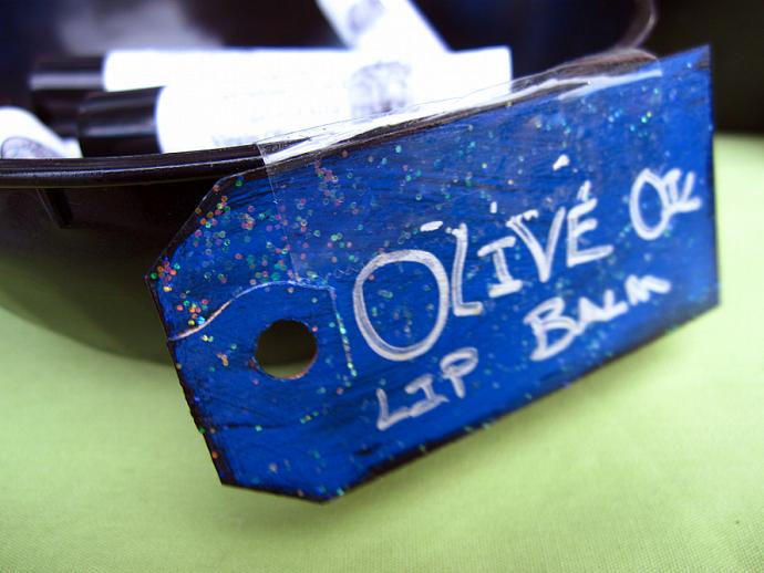 Organic Olive Oil Lip Balm - Infused Healing Herbs