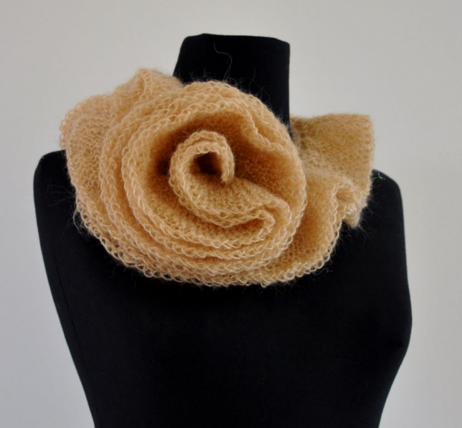 Champagne Exclusive Scarf - Gift For Her