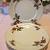 Vintage Shabby Rose Plates set of 6