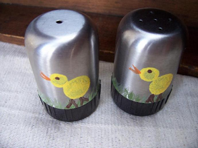 Chicks Salt and Pepper Shakers