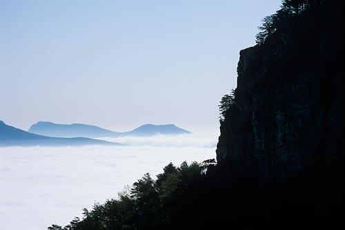 Hanging Rock and Sauertown  Rising Out of the Clouds Fine Art Photo