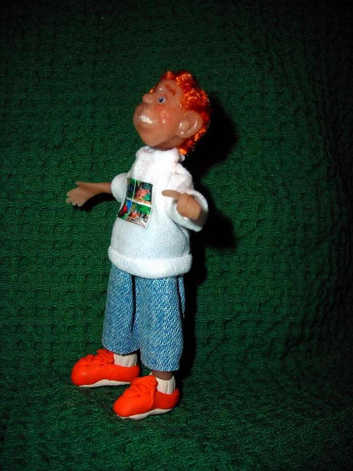 Gregory, a One Inch Scale Polymer Clay Doll