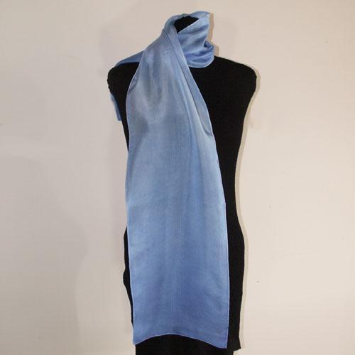 Hand-Dyed Silk Scarf - Antiquities - Royal Blue