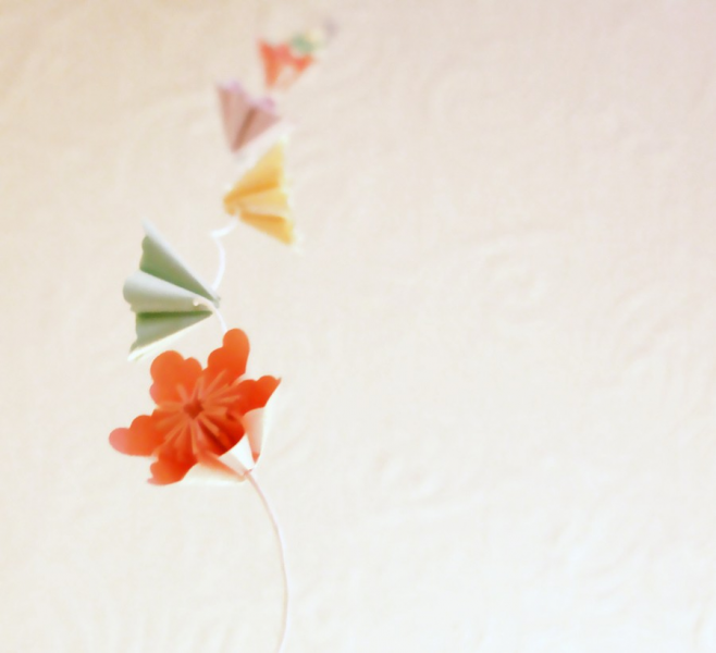 Millalove's Garland of Paper Flowers (4m)