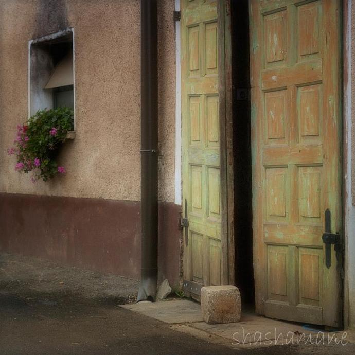 The open door - 8x8 fine art photography print