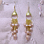 Champagne Waterfall Earrings