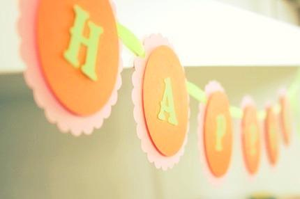 Custom Happy Birthday Banner - Choose your style