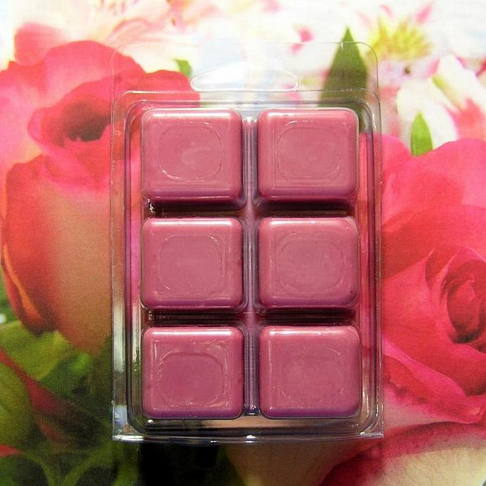Rose Bouquet Breakaway Clamshell Soy Wax Tart Melts