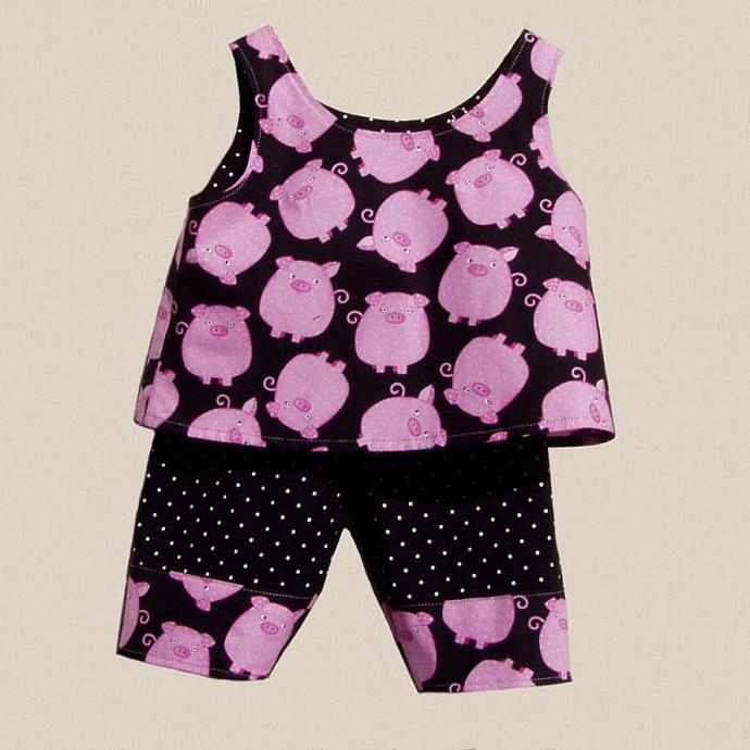 Piggy, Piggy, 2 Piece Set, size 12 months