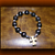 Natural Buri Seed Beads Rosary Bracelet (Elastic)