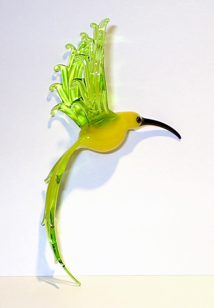 Hummingbird - suncatcher glass figure glass animal
