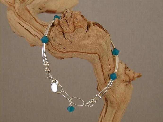 Caribbean Blue Bracelet