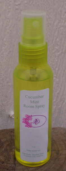 Cucumber Mint  Room Spray 2 oz