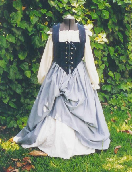 Basic Wench Bodice Outfit