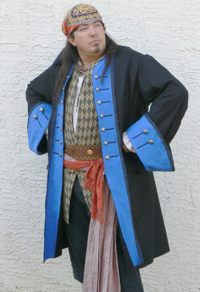 Fancy Pirate Coat