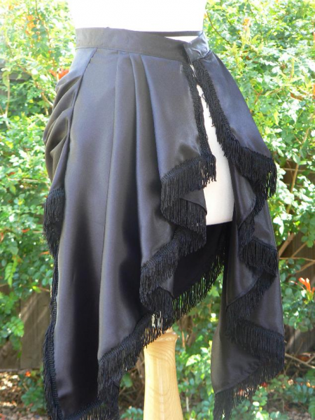 Fringed Bustle Skirt