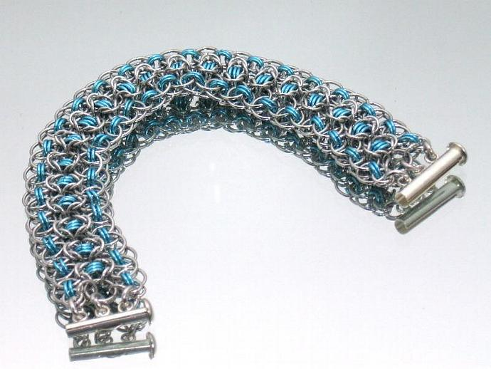 Ice Princess Chainmaille Bracelet