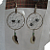 New Dreamcatcher Earrings With Dalmation Jasper