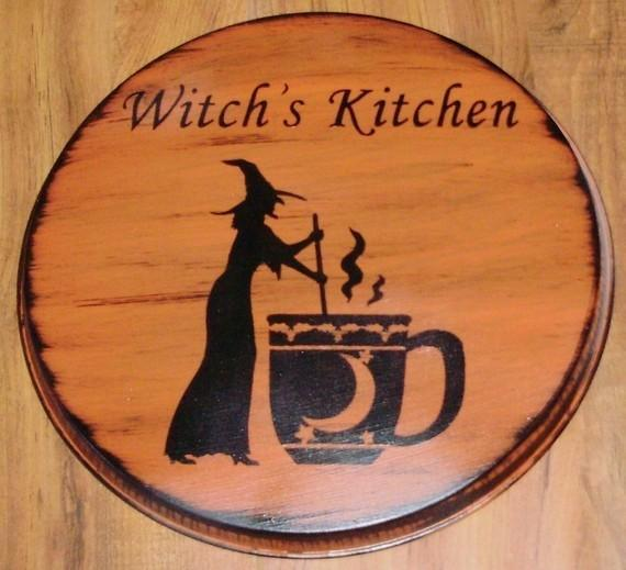 Primitive Witch Stovetop Burner Covers Oven stove Halloween Decorations