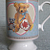 Pleasant Dreams Teddy Bear Mug - Vintage 1988
