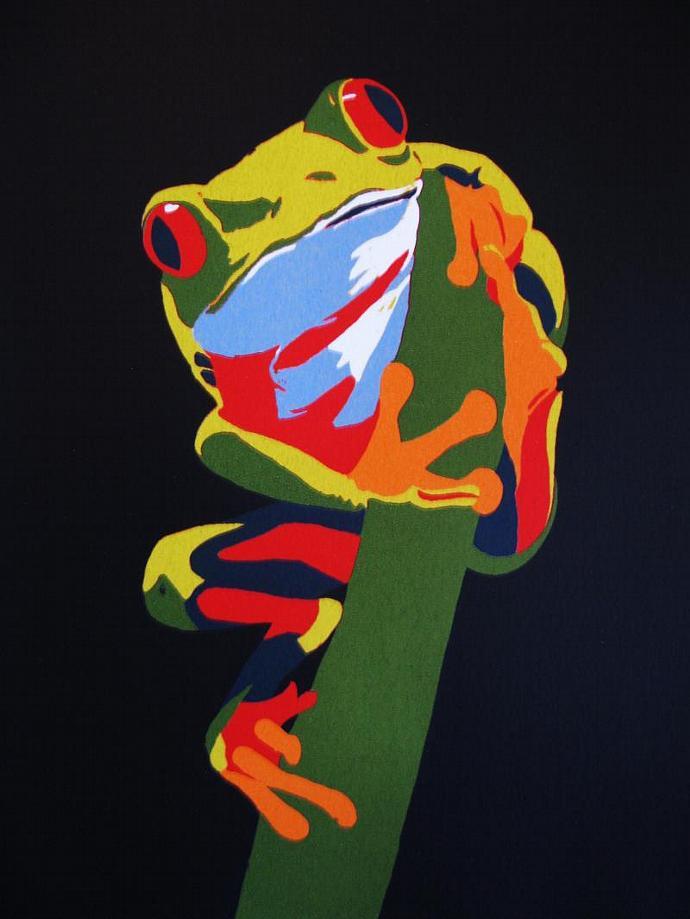 Lenny; silkscreen print