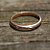 Rose Gold 2mm domed Wedding band- A Nice Slice of