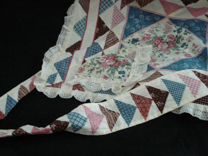 "Retro ""diamond"" apron"