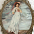 Vintage Victorian Picture with Bubble Glass