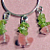 Peridot & Cherry Quartz Earrings