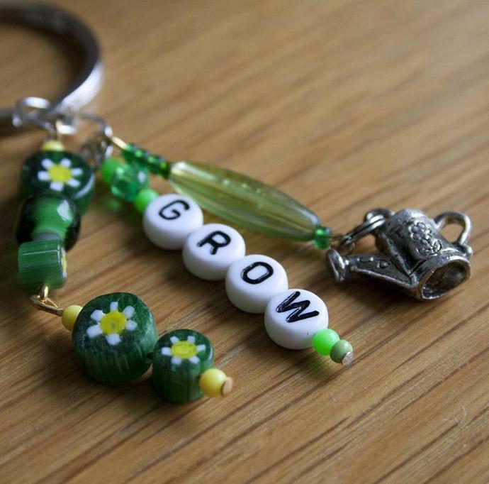 GROW! keychain
