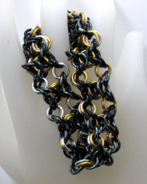 Dawn to Dusk Chainmaille Bracelet