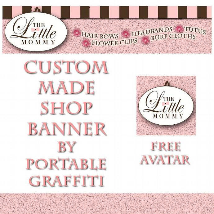 Custom Made Zibbet Banner Any Size