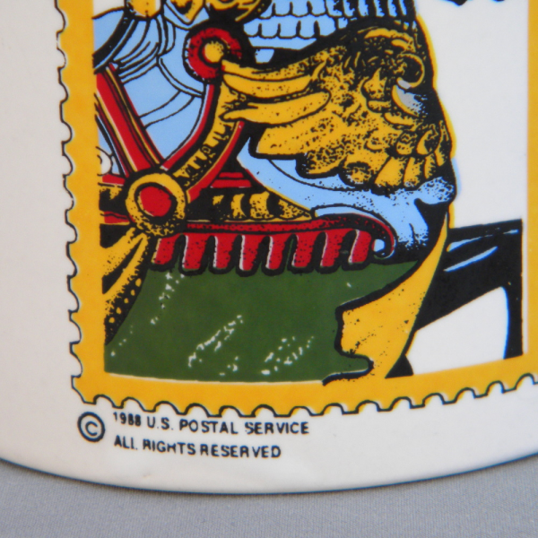 25 Cents Postage Stamp Mug - 1988