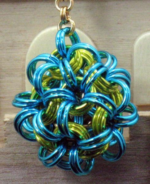 Sprite Chainmaille Key Chain
