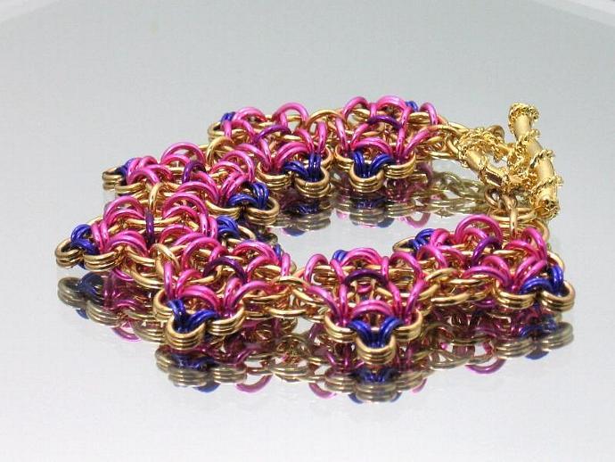 Kara Chainmaille Bracelet