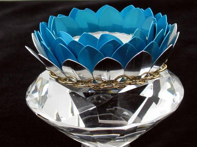 Lily Chainmaille Votive Holder