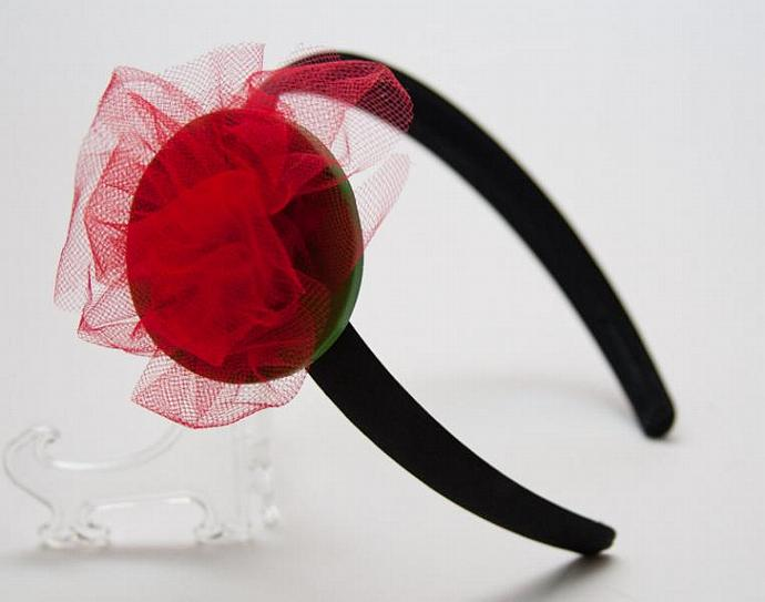 Head Band Abstract Flower
