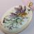 Romantic Lavender Fairy Pendant Necklace