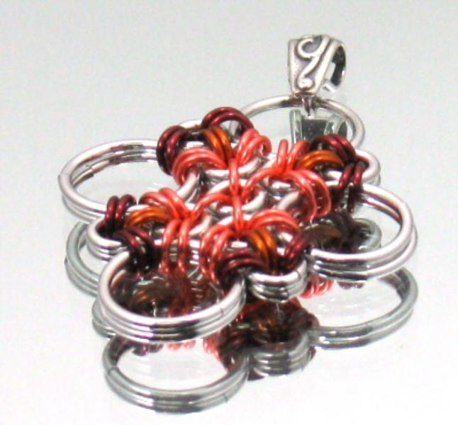 Tarin Chainmaille Pendant