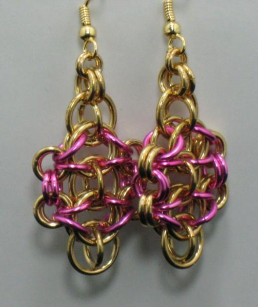 Nelia Chainmaille Earrings