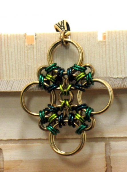 Oran Chainmaille Pendant