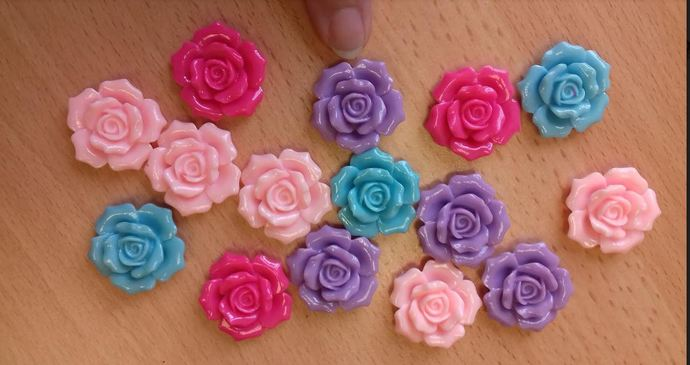 Top quality acrylic roses