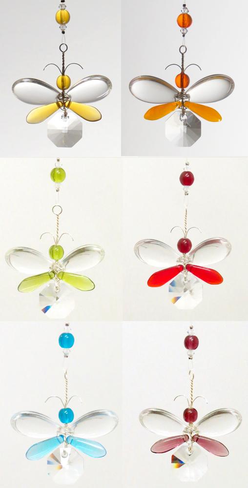Christmas Gift Swarovski Crystal Suncatcher Car Accessories Rear View Mirror