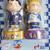 Peanuts 50th Anniversary Celebration Figure Set Of 4 - Hong Kong KCR Railway