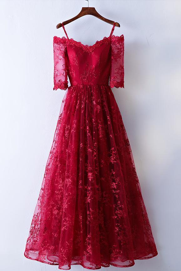 A Line Prom Dresses 2018 97
