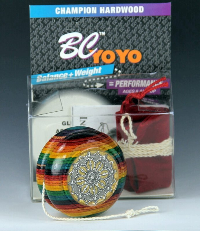 Tom Kuhn BC Rainbow Imperial YoYo: One-Of-A Kind Customized by YoYoSpin.com