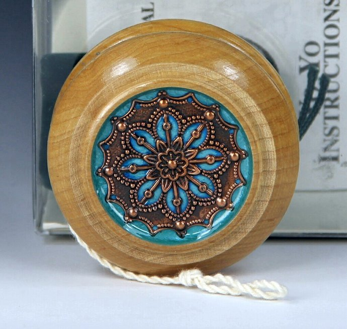 Tom Kuhn / BC Natural Maple Imperial YoYo: One-Of-A Kind, Customized by